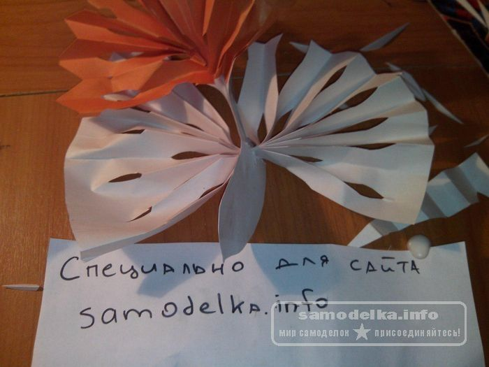 оригами птичка из бумаги