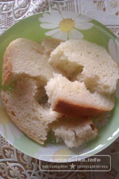 замачиваем хлеб