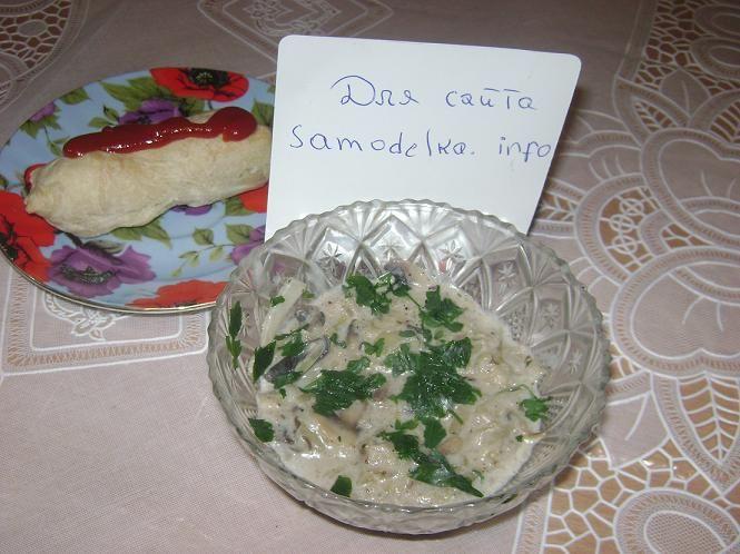 Грибной соус из шампиньонов с молоком рецепт