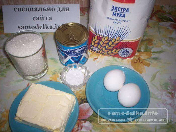 необходимые ингредиенты для муравейника