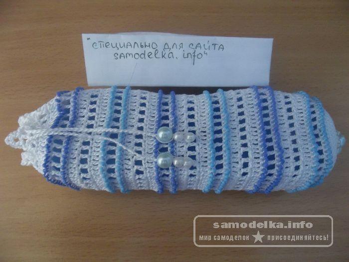 сумочка из бисера для очков своими руками