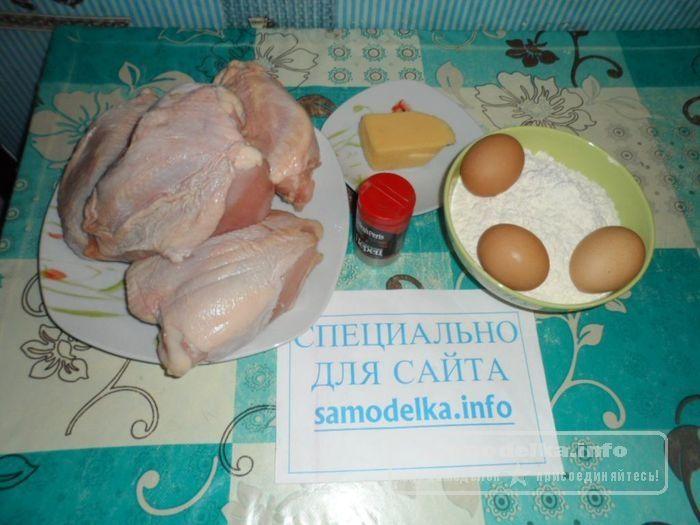 набор продуктов для приготовления куриной грудки