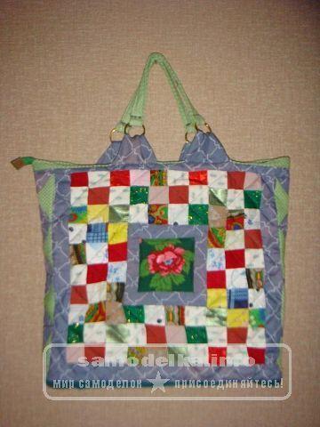 сумочка из ткани