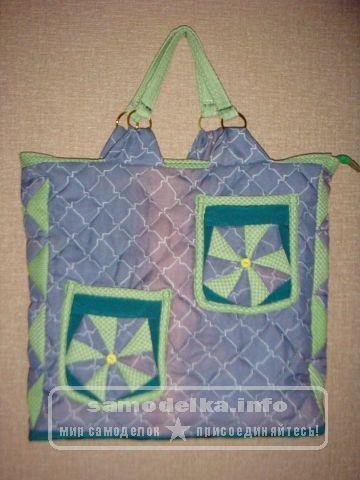 сумочка из лоскутов своими руками