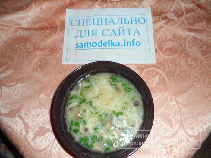 вкусный суп с грибами рецепт с фото пошагово