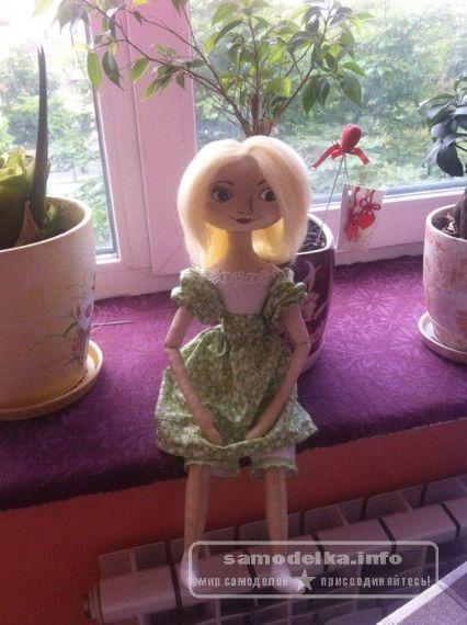 мягкая кукла тыквоголовка