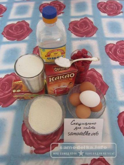 ингредиенты для торта