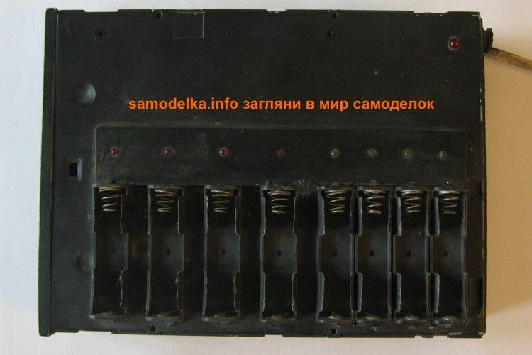 самодельное зарядное для АА аккумуляторов