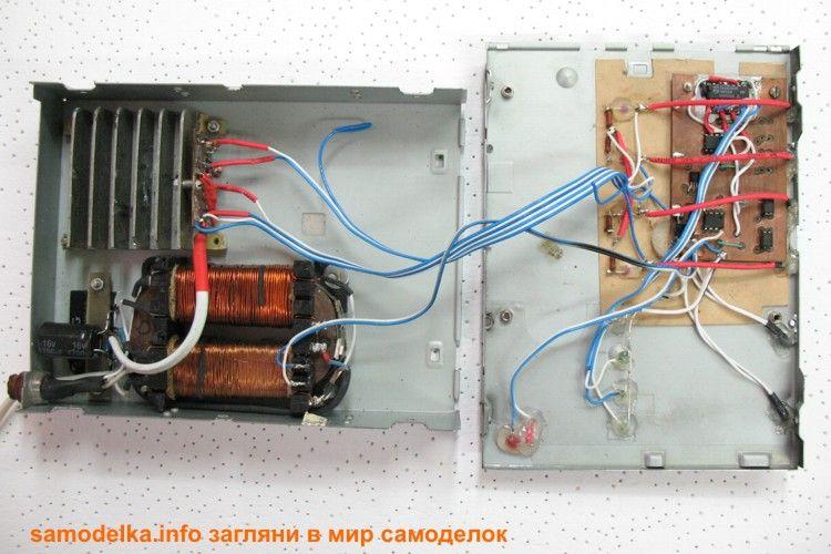 самодельное зарядное для аа блок заряда