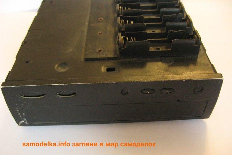 самодельное зарядное для АА аккумуляторов 2