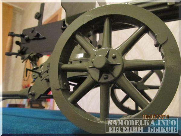 Самодельная модель пулемета Максим
