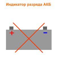 Индикатор разряда батареи