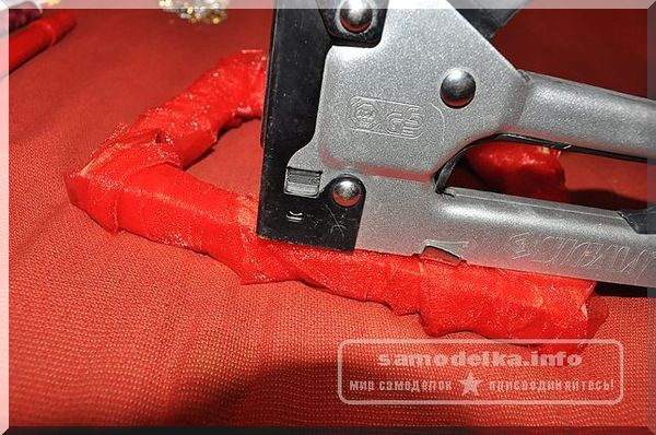 красный фетр