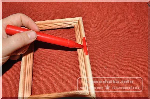 декорирование рамки для фотографий