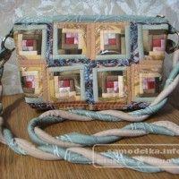 сумка из лоскутков