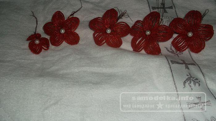 Орхидея - бисероплетение цветов мастер класс