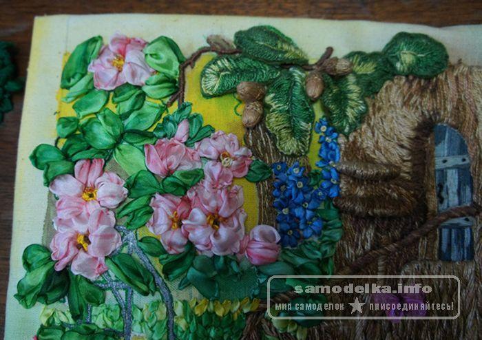 Изготовление цветов и листьев