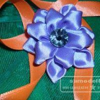 украшение - цветок канзаши