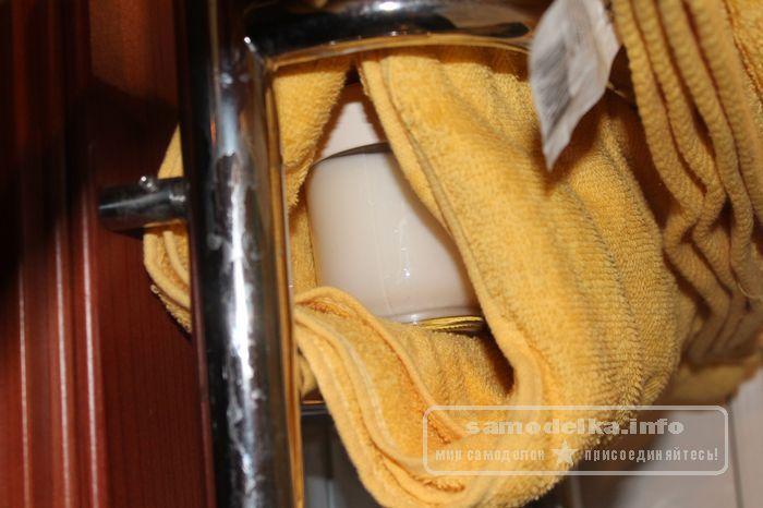 Заворачиваем в полотенце