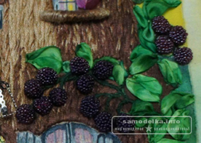 Вышивание ягод