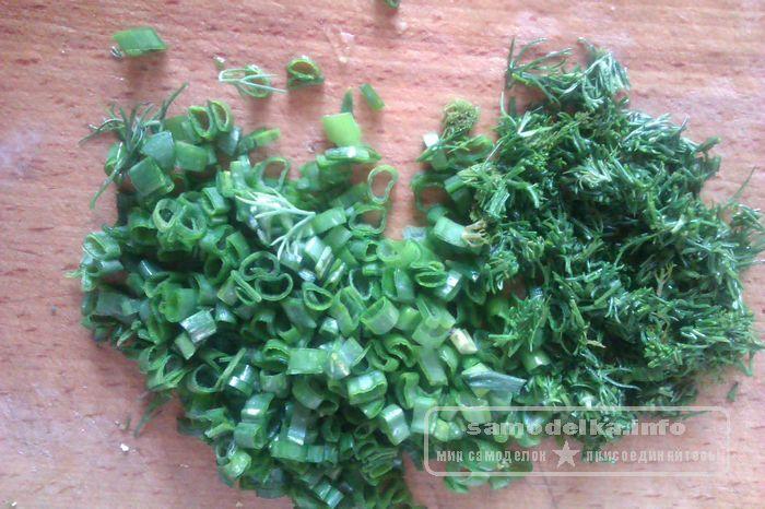 укроп и прочая зелень
