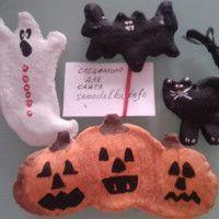 магнит на холодильник для Хеллоуина