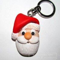 брелок Дед Мороз