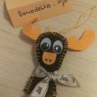 елочная игрушка олень