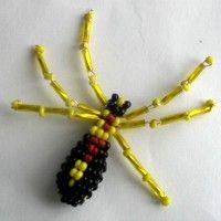 паук из бисера мастер класс