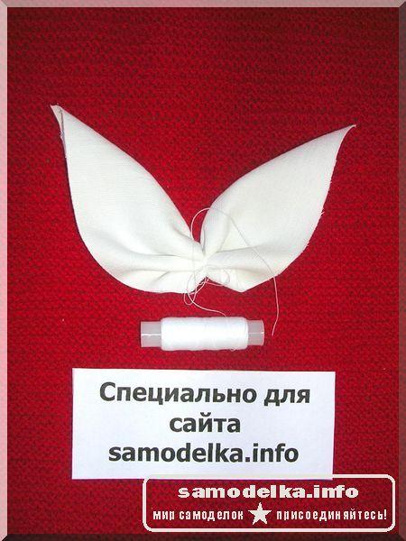 крылья для куклы из ткани