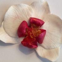 Орхидея из полимерной глины мастер класс