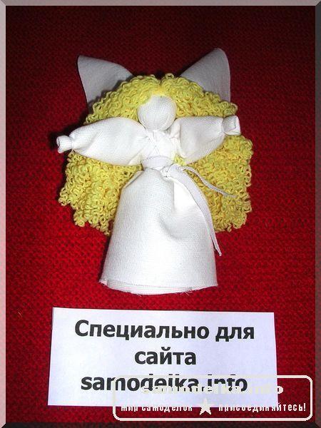 самодельная кукла из ткани