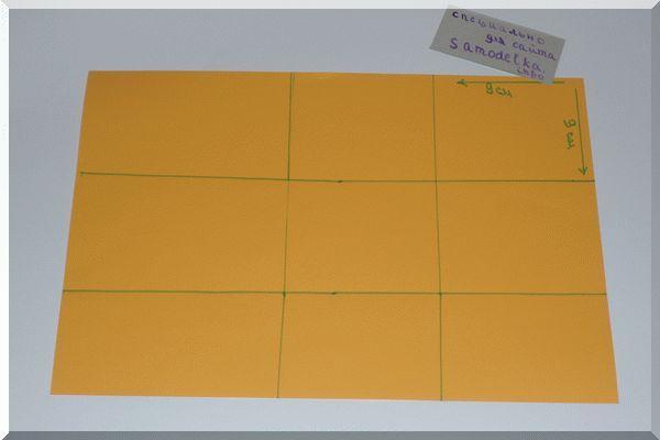 Делим картон на квадраты