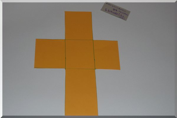 Обрезаем квадраты для будущей шкатулки для рукоделия своими руками