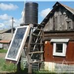 самодельный солнечный коллектор для нагрева воды
