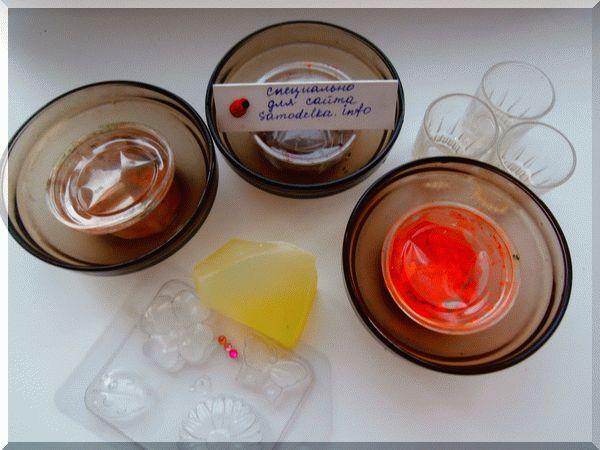 материалы для мыловарения