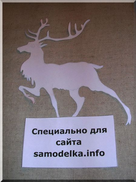 Трафарет на ткани перед росписью акрилом