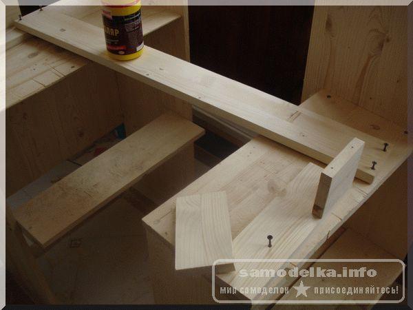 Заготовки для деревянного карниза