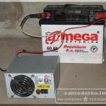 самодельное зарядное устройство для автомобильного аккумулятора