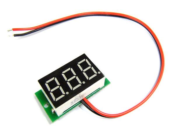 Вольтметр для самодельного зарядного устройства