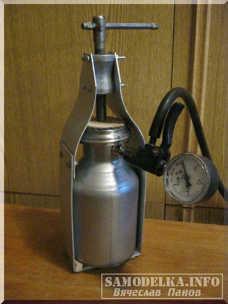 Самодельный автоклав из термоса фото