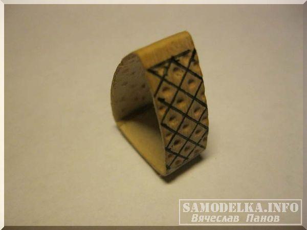Мелкая фигура в форме треугольника из бересты своими руками