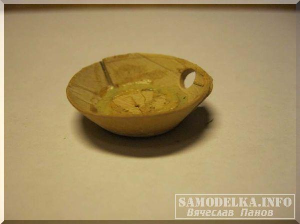 Миниатюрная посуда из бересты своими руками