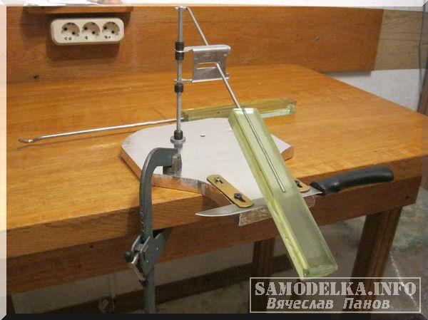 самодельная установка для заточки ножей