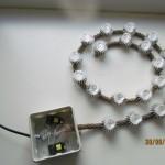 светодиодный светильник на канате