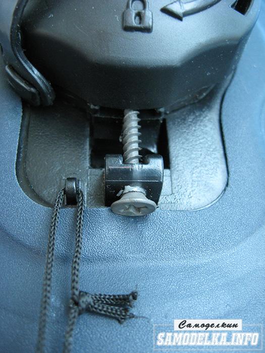 фото поломанного воздушного клапана матраса