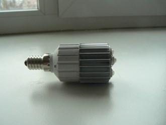 Самодельная светодиодная лампочка