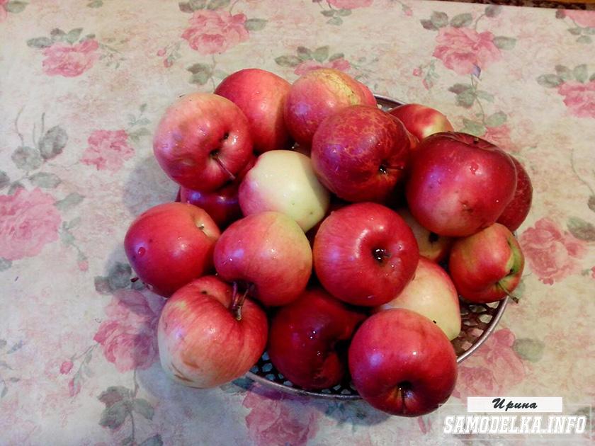 Яблоки для варенья дольками