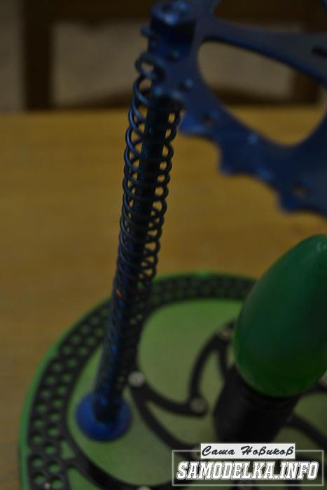 самодельный настольный светильник Steampunk