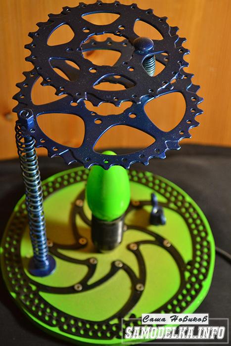 Steampunk светильник своими руками